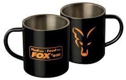 Снимка на FOX Stainless Black XL 400ml Mug