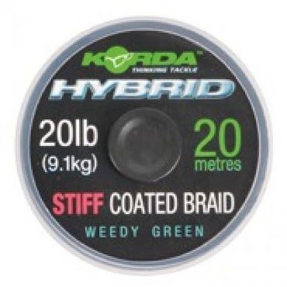 Снимка на Korda Hybrid Stiff 20lb Weed Green 20m